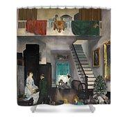 The Studio Shower Curtain