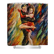 The Sublime Tango  Shower Curtain