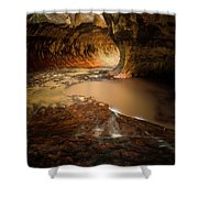 The Subway - Zion National Park Shower Curtain
