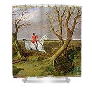 The Suffolk Hunt - Gone Away Shower Curtain