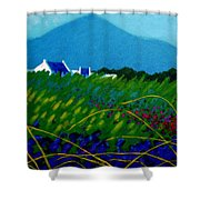 The Sugar Loaf County Wicklow Ireland Shower Curtain
