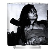 The Sulk Will Follow Soon Shower Curtain