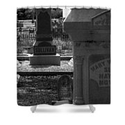 The Sullivan Burial Plot Shower Curtain