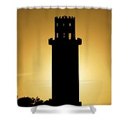 The Sulphur Springs Tower Shower Curtain