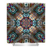 The Summer Of Love Shower Curtain