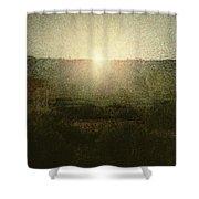 The Sun Shower Curtain