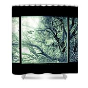 The Sun Moves The Days. Shower Curtain