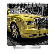 The Sun Of Rodeo Shower Curtain