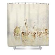 The Sun Of Venice Shower Curtain