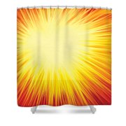 The Sun Shower Curtain