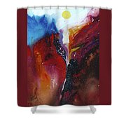The Sun Rise Shower Curtain