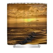 The Sun Will Return Shower Curtain