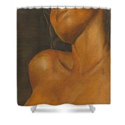 The Sun Will Set For You Shower Curtain by Dana DiPasquale
