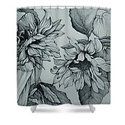 The Sunflowers Shower Curtain