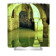 The Sunken Crypt Of San Zaccaria Shower Curtain