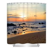 The Sunset Of Maui Shower Curtain