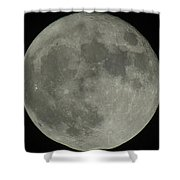 The Super Moon 4 Shower Curtain