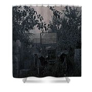 The Supply Truck Shower Curtain