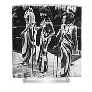 The Supremes, C1963 Shower Curtain
