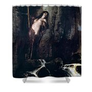 The Surf 1883 Shower Curtain