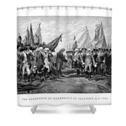 The Surrender Of Cornwallis At Yorktown Shower Curtain
