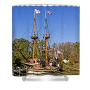 The Susan Constant Shower Curtain