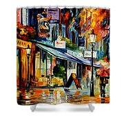 The Swan - London Shower Curtain