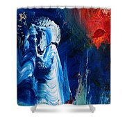 The Sweeper Shower Curtain