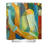 The Sweet Kiss Shower Curtain