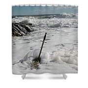The Sword 2 Shower Curtain