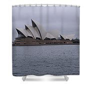 The Sydney Opera House  Shower Curtain