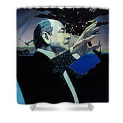 The Symphony Shower Curtain
