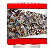 The Synergies Of Recycling Wastes And Intellects #511 Shower Curtain