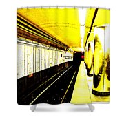 The T Shower Curtain