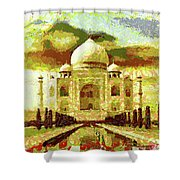 The Taj Mahal Shower Curtain