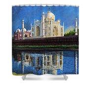 The Taj Mahal Shrine Of Beauty Shower Curtain