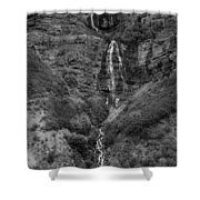 The Tall Fall Shower Curtain