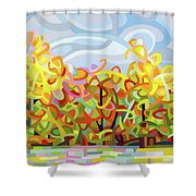 The Tangled Shore Shower Curtain