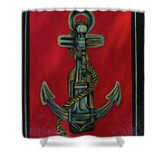 The Tavern Sign Shower Curtain