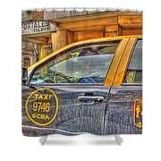 The Taxi Shower Curtain