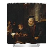 The Teacher 1645 Shower Curtain