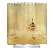 The Temple 2016 Shower Curtain