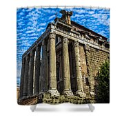 The Temple Of Antoninus And Faustina Shower Curtain