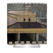 The Temple Of Solomon 1 Shower Curtain