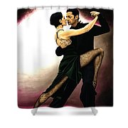 The Temptation Of Tango Shower Curtain