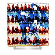 The Tenderfoot Shower Curtain
