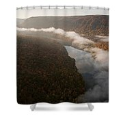 The Tennessee River Cuts Through Signal Shower Curtain