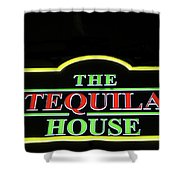 The Tequila House, New Orleans Shower Curtain