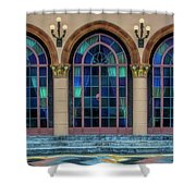 The Terrace At The Ringling Estate - Sarasota, Florida Shower Curtain