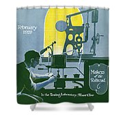 The Testing Laboratory Shower Curtain